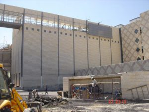 טיפול במפגע אבק במפעל פרמצבטיקה