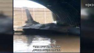צוללות בוואדי – שאיבת הצפה בבסיס חיל האוויר