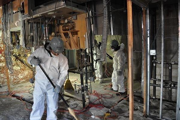 שיקום מבנים - צוות בלפור בפעולה